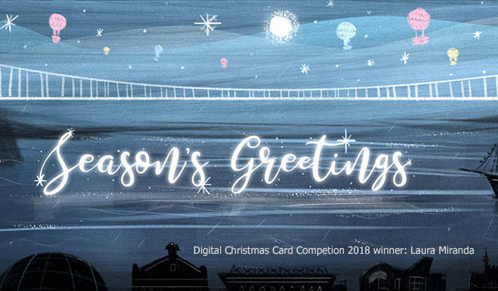 Design the UWE Bristol Christmas Card and win £250
