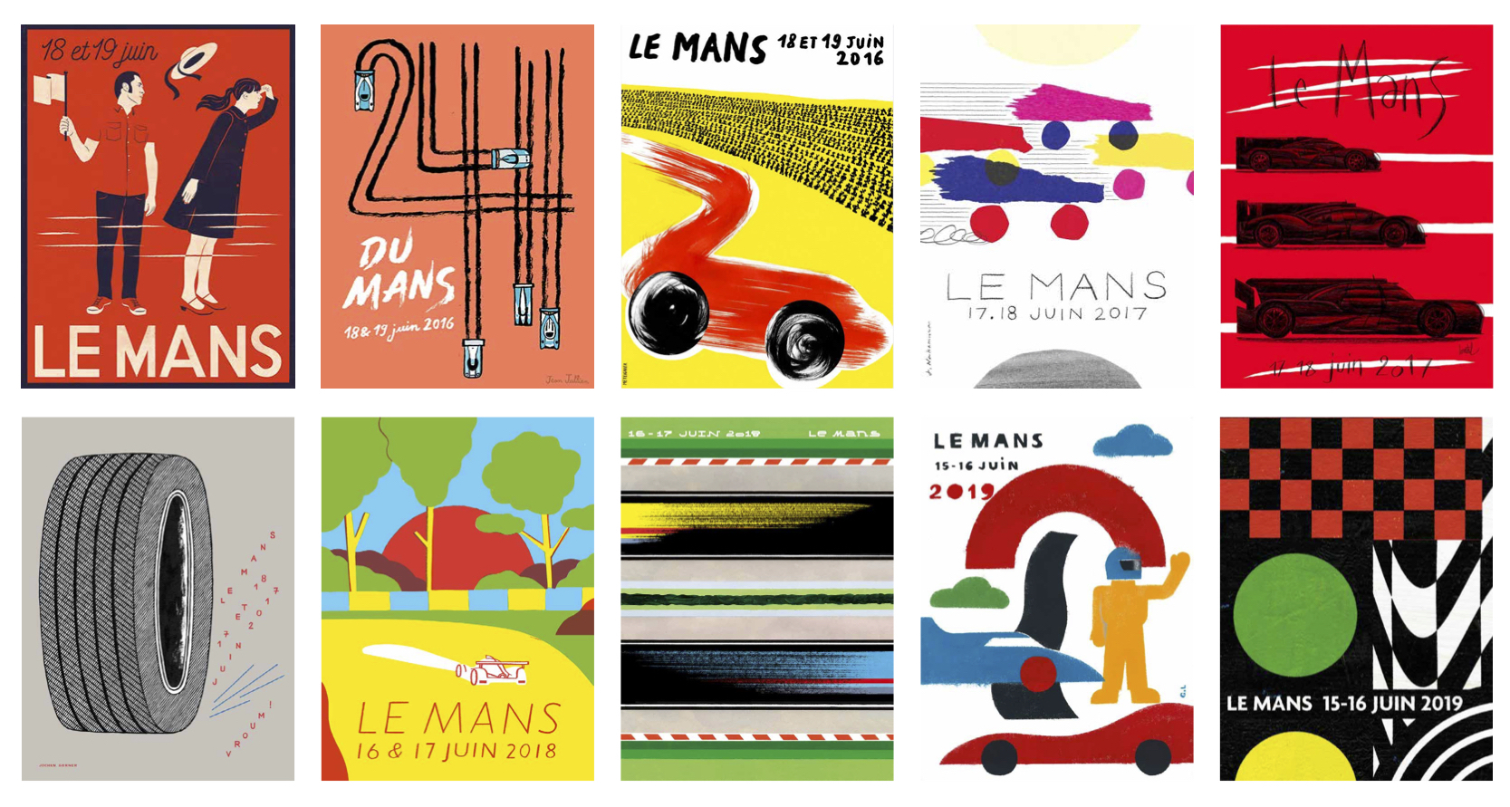 Win £800 for your poster design | Le Mans Competition 2020