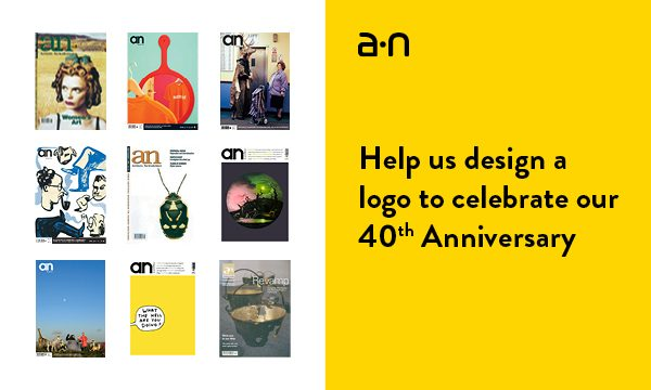 Win £2000 for designing A-N's 40th Anniversary Logo!