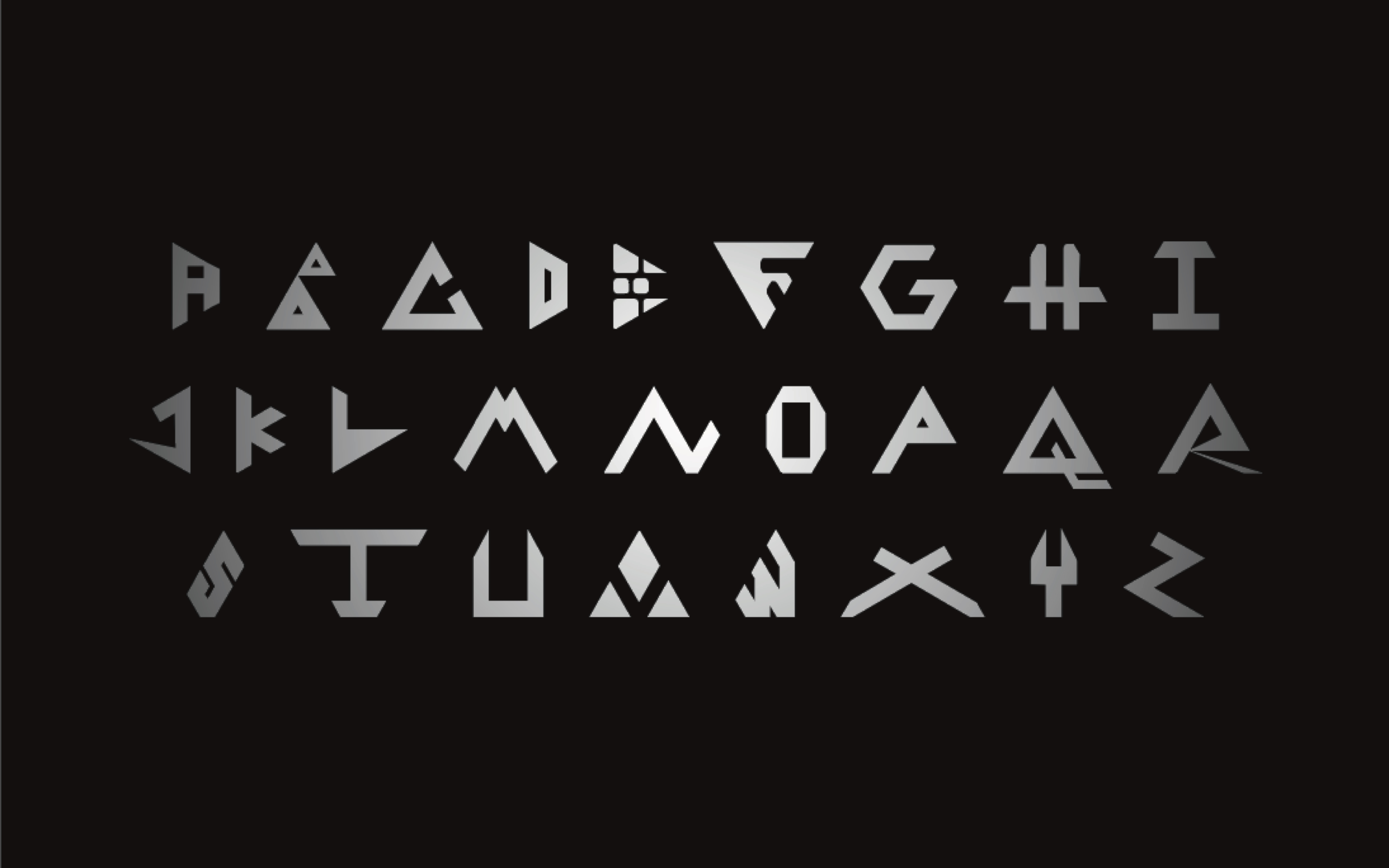 Covid-Construction Typeface