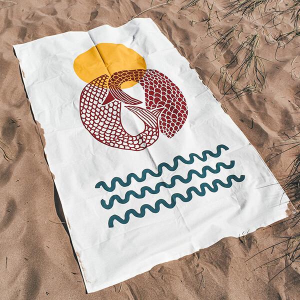 Merbabes Beach Throw